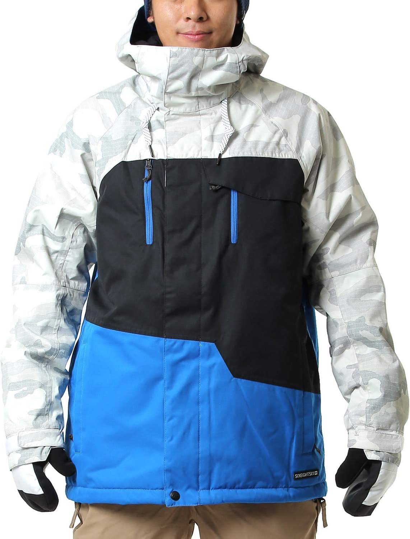 686 シックスエイトシックス L9W124 ジオジャケット 19-20 STRATA 青 COLORBLOCK L