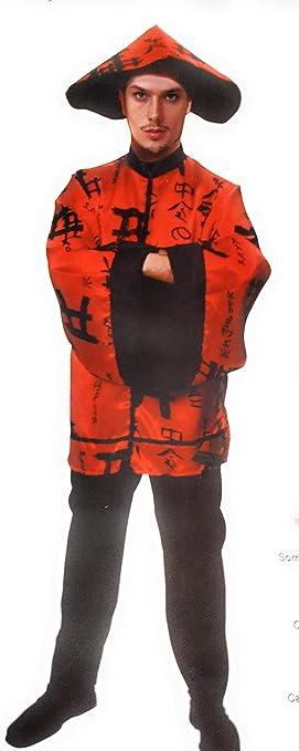 Atosa Disfraz Chino Hombre M-L Carnaval: Amazon.es: Juguetes y juegos