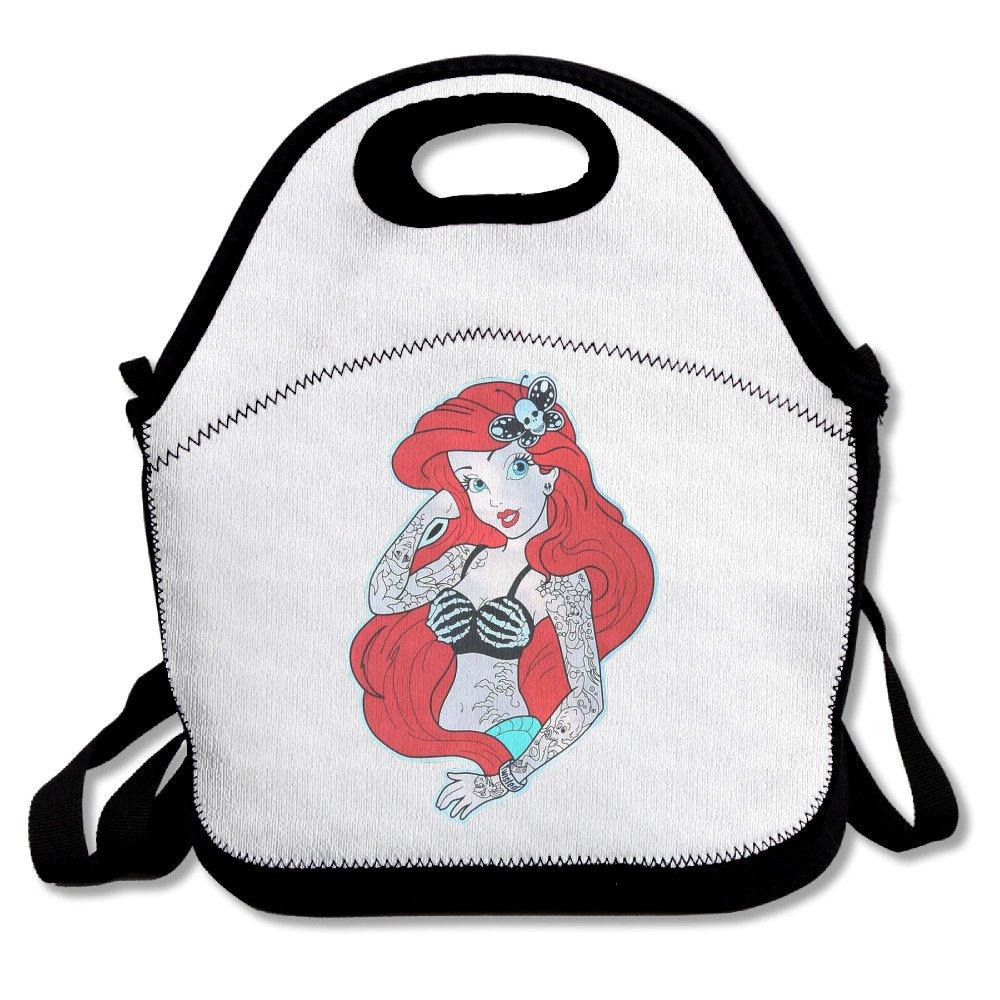 Personalizada, Ariel sirenita tatuaje bolsa para el almuerzo ...