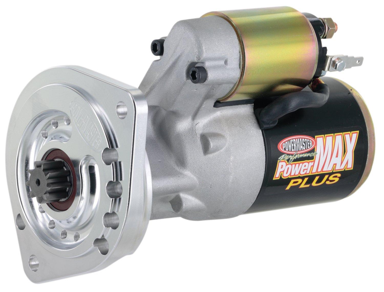 Powermaster 9000-3 PowerMAX Plus Starter V8 All A//T w//157T//164T, M//T 157T Flyw 3//4 Depth 14:1 Natural M//T 157T Flyw 3//4 Depth 14:1 Natural SB Ford