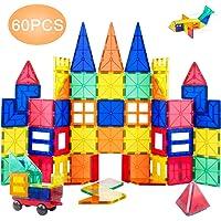 Orrente 60-Piece Magnetic Building Blocks Se