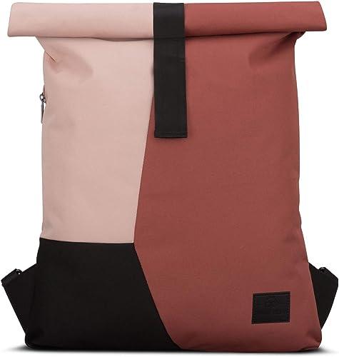 Backpack Roll Top Red Pink JOHNNY URBAN Oskar Multicolor Gym Sports Bag Women Men
