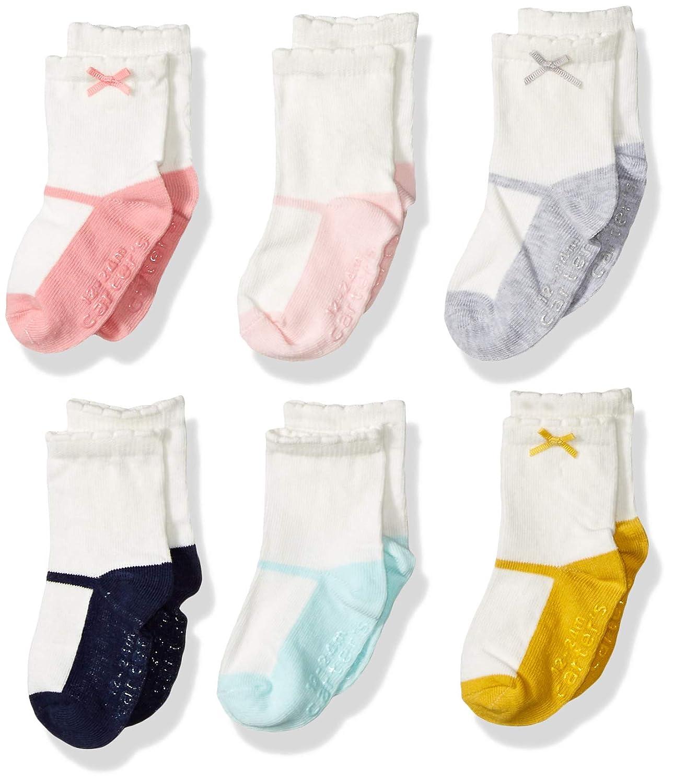Amazon.com: De Carter Baby-Girls recién nacido Calcetines de ...