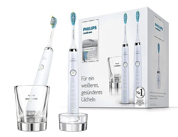 Philips 飞利浦 HX9327/87 旗舰钻石声波震动电动牙刷*2支装  带充电玻璃杯 ¥1270