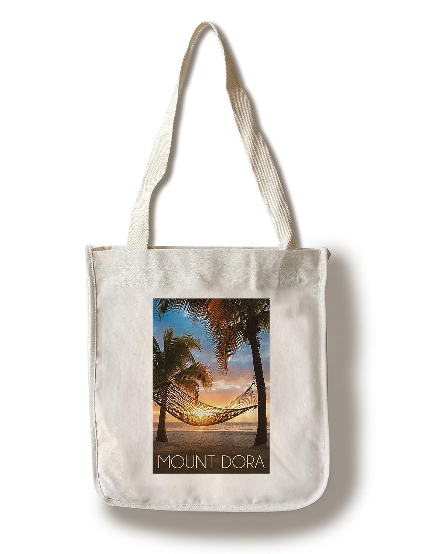 マウントDora、フロリダ州 – ハンモックとサンセット Canvas Tote Bag LANT-75114-TT B01EMP97NY  Canvas Tote Bag