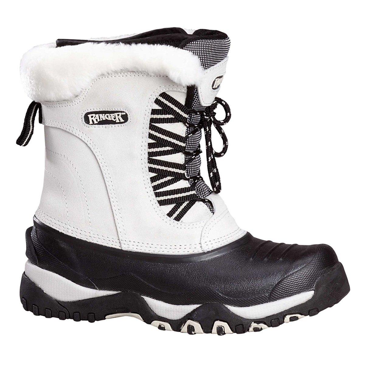 Ranger Womens A426 White Snow Boot (8)