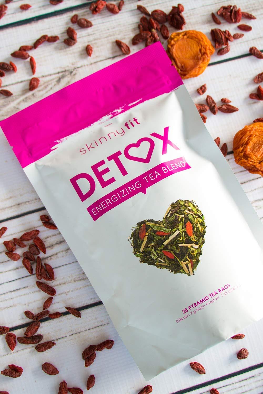 SkinnyFit Detox Tea: Cleanse w/All-Natural, Laxative-Free, Green Tea Leaves, Vegan, Gluten-Free, 28 Servings - Slimming Way to Release Toxins and Increase Energy w/Bonus Digital Welcome Guide by SkinnyFit (Image #8)