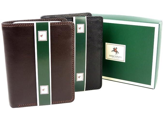 Visconti heritage-11 Soft Thin ID de fotos de piel (Quad Fold Wallets: Amazon.es: Ropa y accesorios