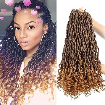 Amazon Com Goddess Faux Locs Crochet Hair Braids Synthetic