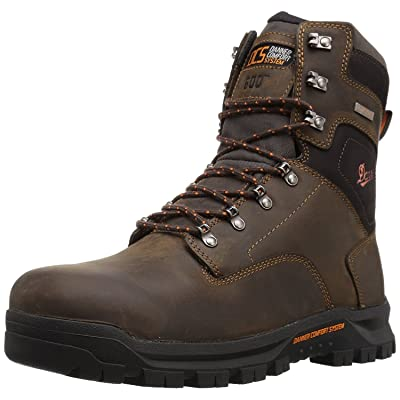 "Danner Men\'s Crafter 8\"" 600G Nmt Work Boot | Industrial & Construction Boots [3Bkhe0901573]"