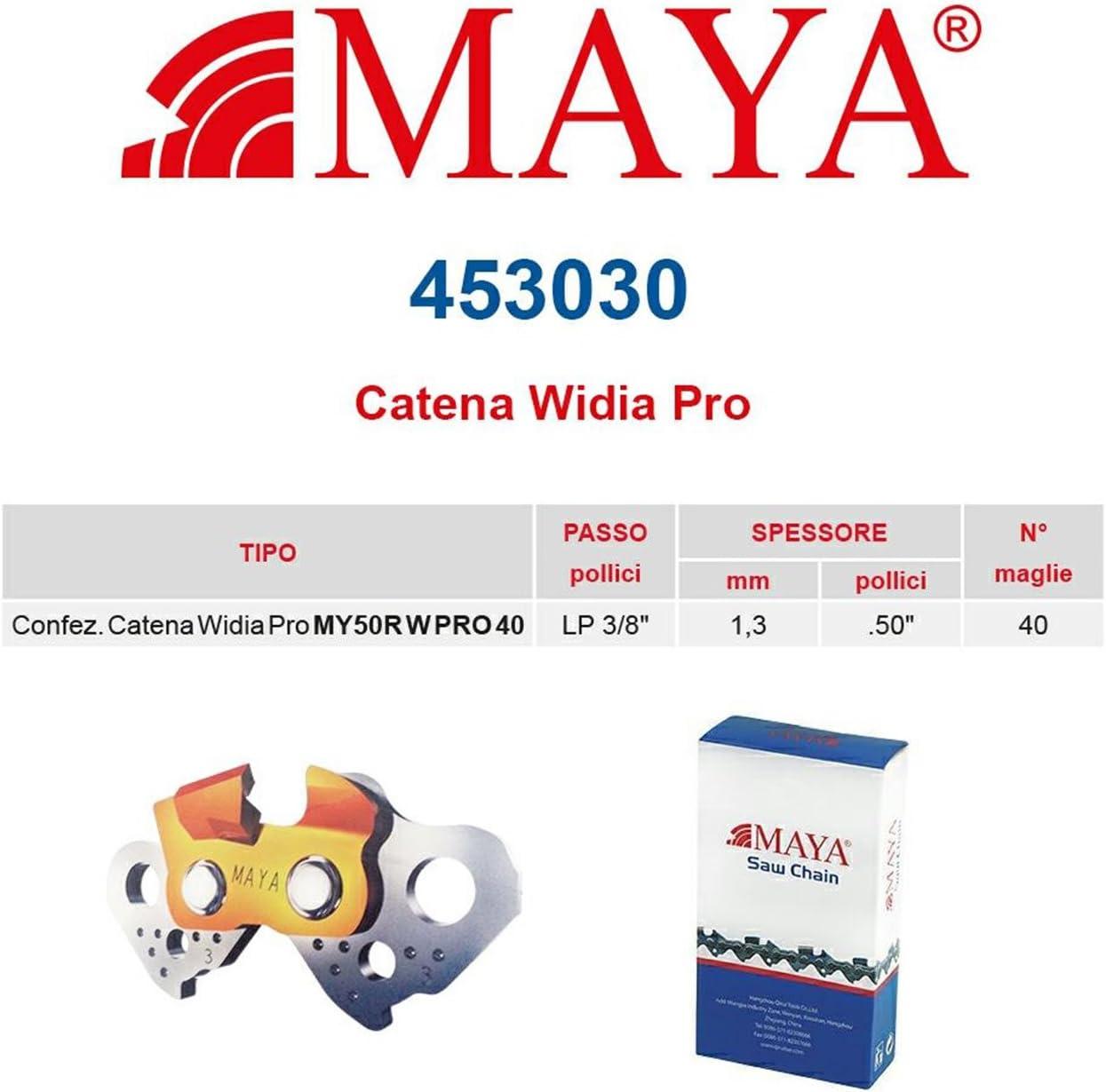 """Catena confezionata 40 maglie Catena per motosega 3//8/"""" low profile 050/""""-1,3mm"""