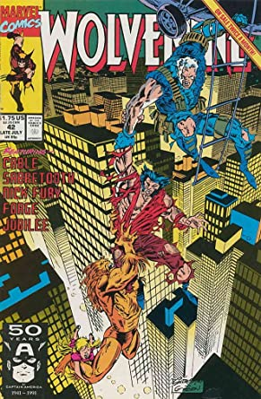 Amazon.com: Wolverine #42 VF/NM ; Marvel comic book ...