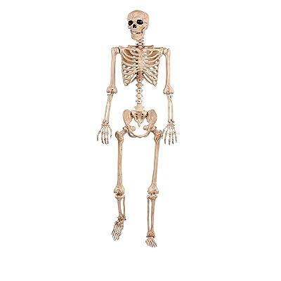 Crazy Bonez Pose-N-Stay Skeleton: Toys & Games