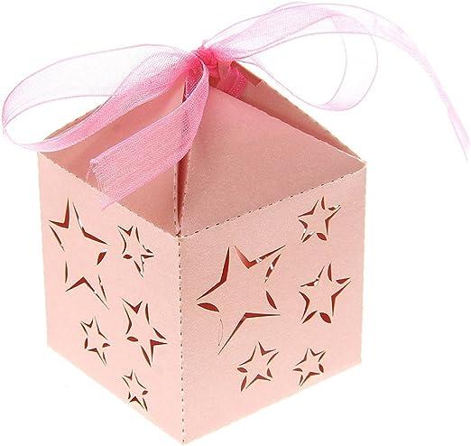 ROSENICE 50 Piezas Caja para Bombones Caramelos Dulces Caja para ...