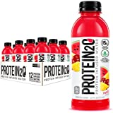 Protein2o 15g Whey Protein Infused Water 16.9 Oz Bottle Pack Of 12, Fruit Punch, 1 Count