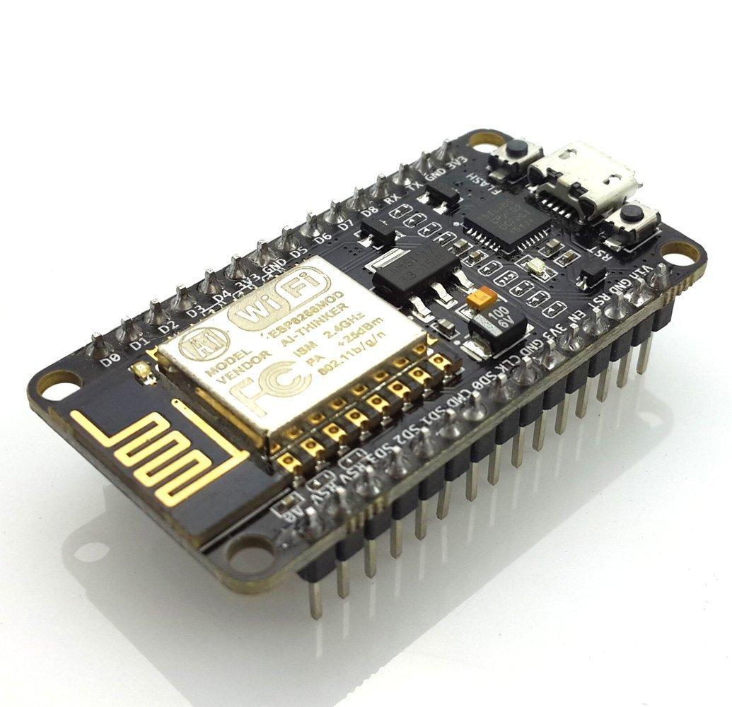 Hi Letgo New Version Esp8266 Node Mcu Lua Cp2102 Esp 12 E Internet Wifi Development Board Open Source Serial Wireless Module Works Great With Arduino Ide/Micropython by Hi Letgo
