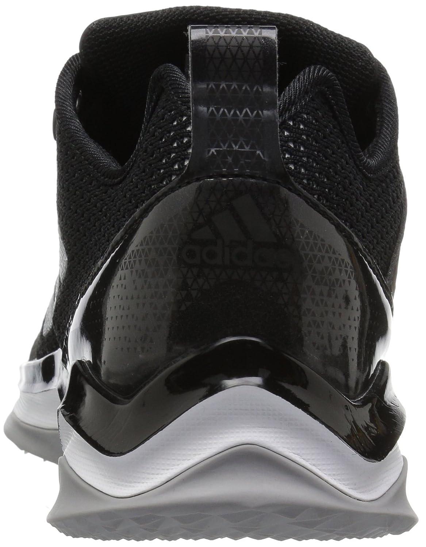 detailed look 91891 9eefb adidas Originals Hombre Freak X Carbon Mid Cross Trainer Negro   Plata  Metálico   Blanco