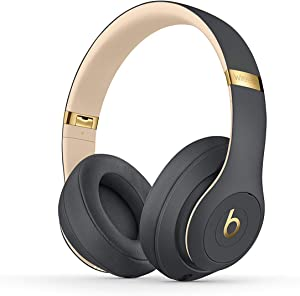 Beats Studio3 Wireless Noise Cancelling On-Ear Headphones - Apple W1 Headphone Chip, Class 1 Bluetooth, Active Noise Cancelling, 22 Hours Of Listening Time - Shadow Gray (Previous Model)