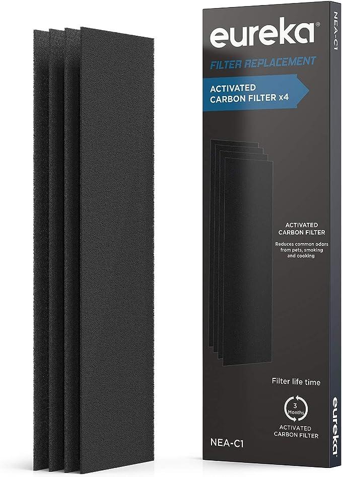 EUREKA NEA120 Filtro purificador de aire NEA-C1, filtro de carbón ...