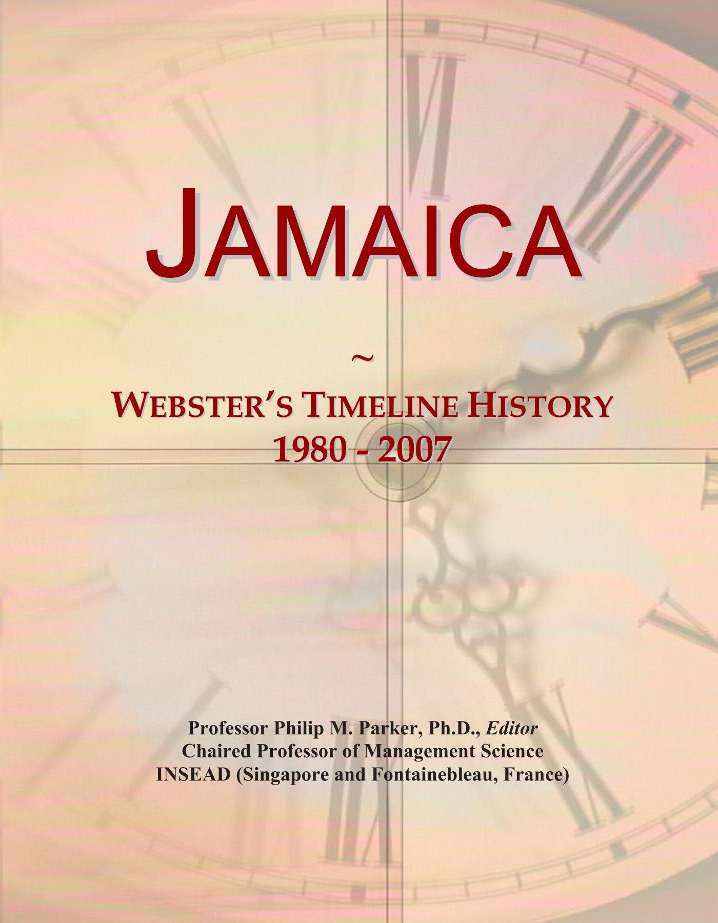Jamaica: Webster's Timeline History, 1980 - 2007