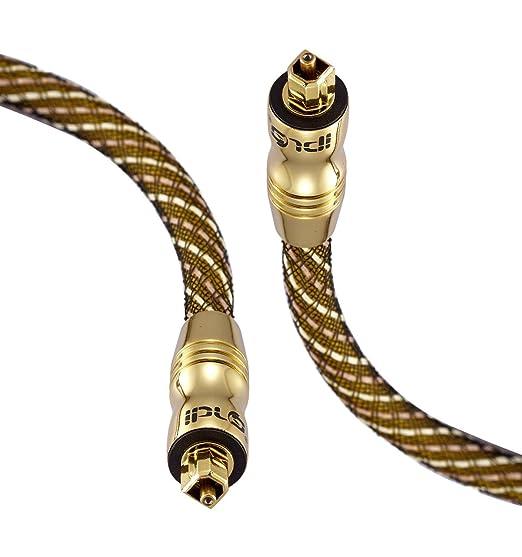 499 opinioni per Cavo Ottico- IBRA Cavo Toslink 5m (metri)- Cavo Fibra Ottica Audio Digitale- per