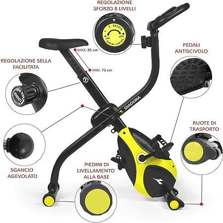 Diadora Smarty - Bicicleta estática: Amazon.es: Deportes y aire libre