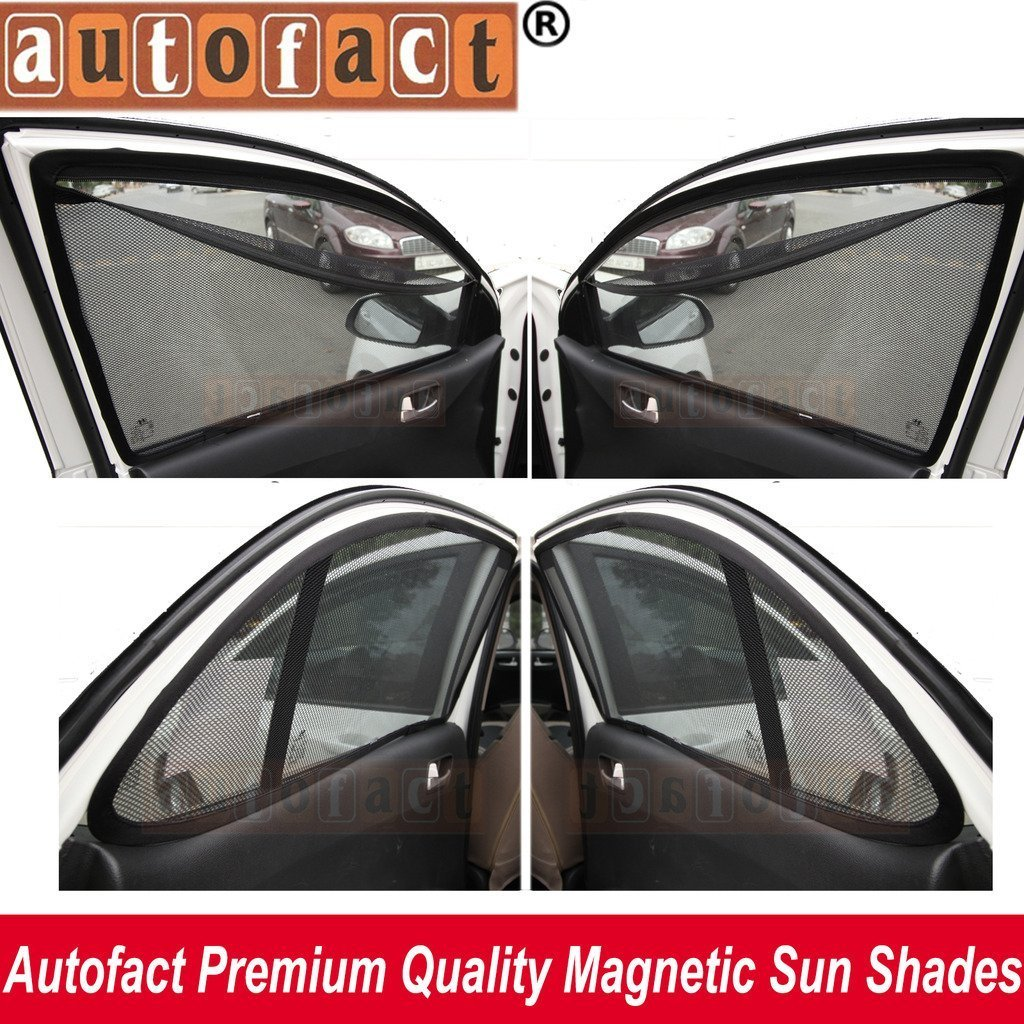 27cdaa671294 AUTOFACT Magnetic Window Sun Shades for Maruti Suzuki Ciaz -Set of 4 - with  Zipper