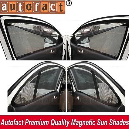 Autofact Magnetic Window Sunshade For Hyundai Grand I 10 -Set Of 4 - With  Zipper  Amazon.in  Car   Motorbike 210afceca80