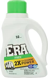 Era 2x Ultra Free Liquid Detergent 32 Loads 50 Fl Oz