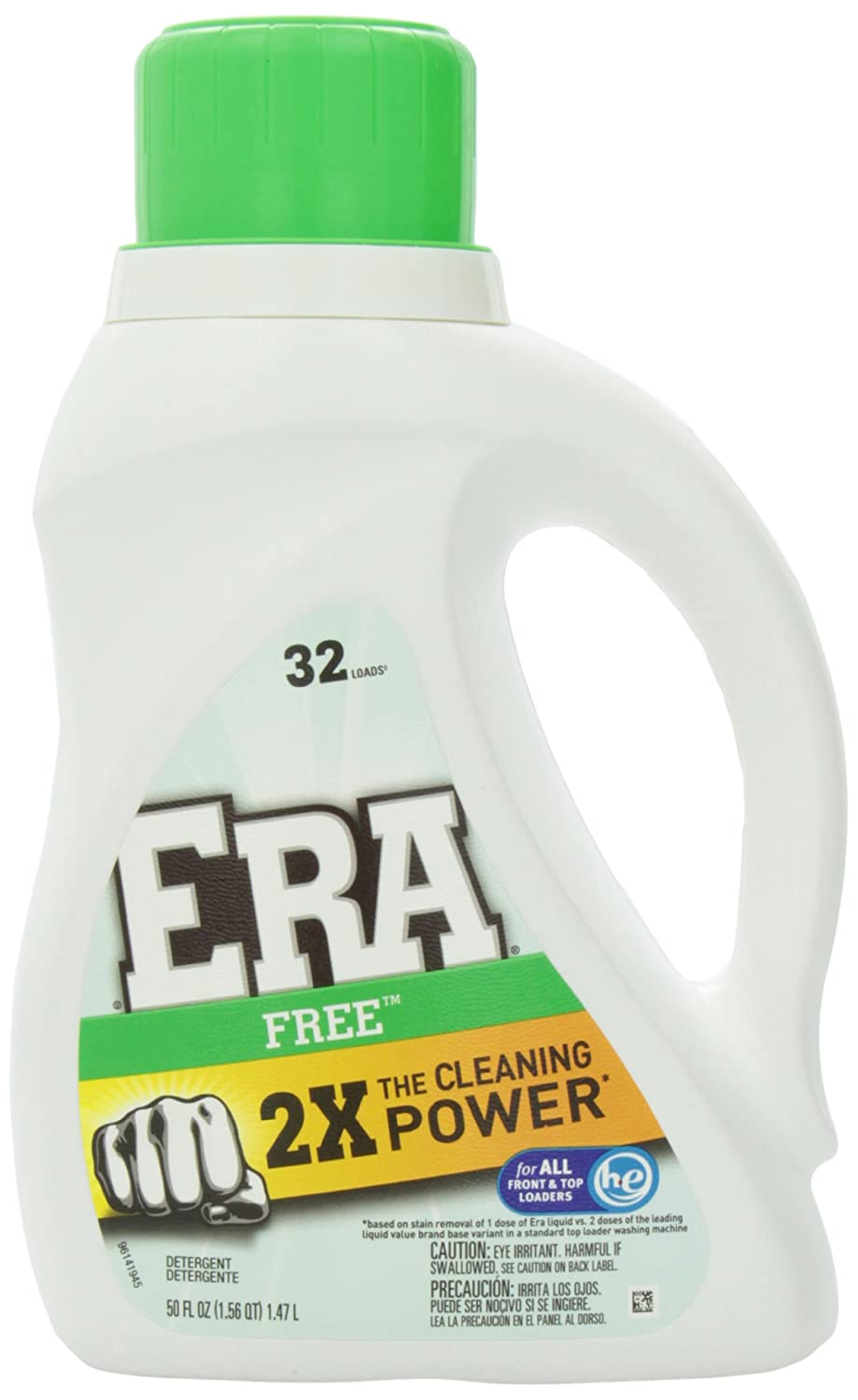 Era Concentrated Liquid Detergent - 150 oz - Free