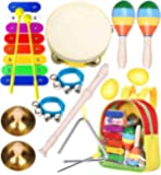 Toddler Musical Instruments Toys- Smarkids Premium Accurately Tuned Percussion Musical Instruments for Kids Children…