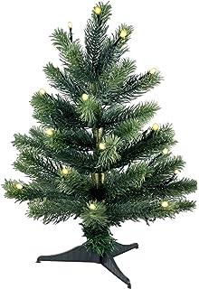 Weihnachtsbaum Mit Integrierter Beleuchtung | Amazon De Lonartz Naturgetreuer Kunstlicher Weihnachtsbaum Pe