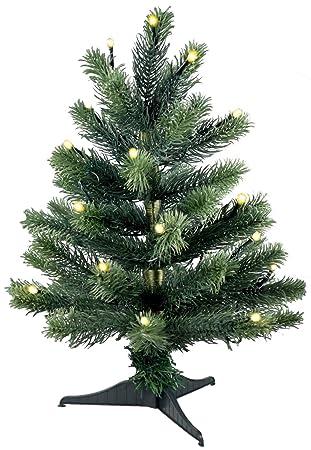 Künstlicher Weihnachtsbaum Mit Beleuchtung 45 Cm.Lönartz Reg Naturgetreuer Künstlicher Weihnachtsbaum Pe Spritzguss