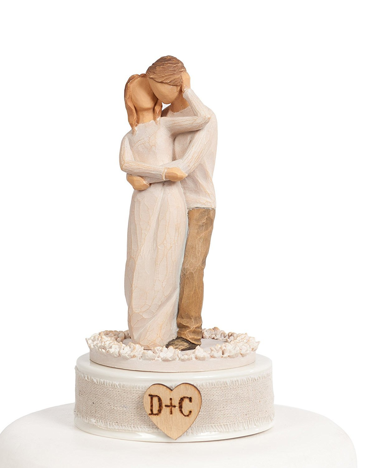 Personalized Willow Tree ''Together'' Wedding Cake Topper ... by DEMDACO - Home (Image #1)