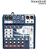 Soundcraft Notepad-5 小型模拟搅拌机Notepad-8FX 8-channel mixer 8-channel mixer
