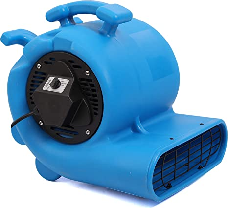 12 Air Mover Carpet Dryers 3 Speed 1//3 HP Floor Blower Fan Stackable GFCI Outlet