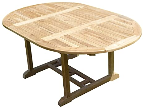 Tables de jardin TeckLine MJETASAWP Sawah Table de Jardin ...
