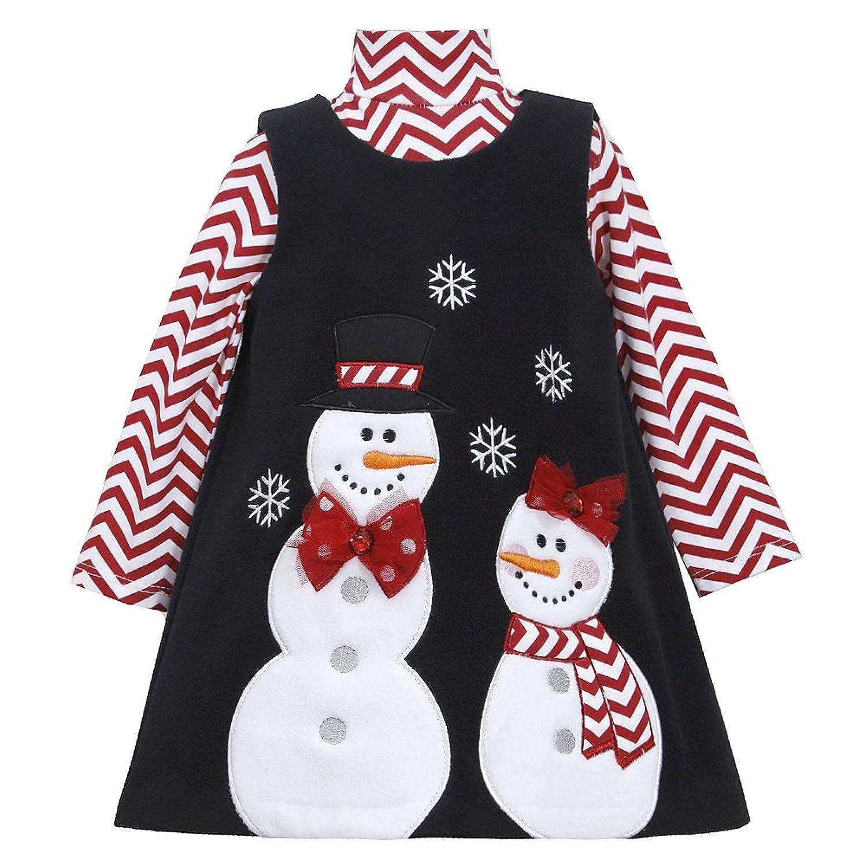 Amazon Bonnie Jean Girls Snowman Winter Chevron Holiday Jumper