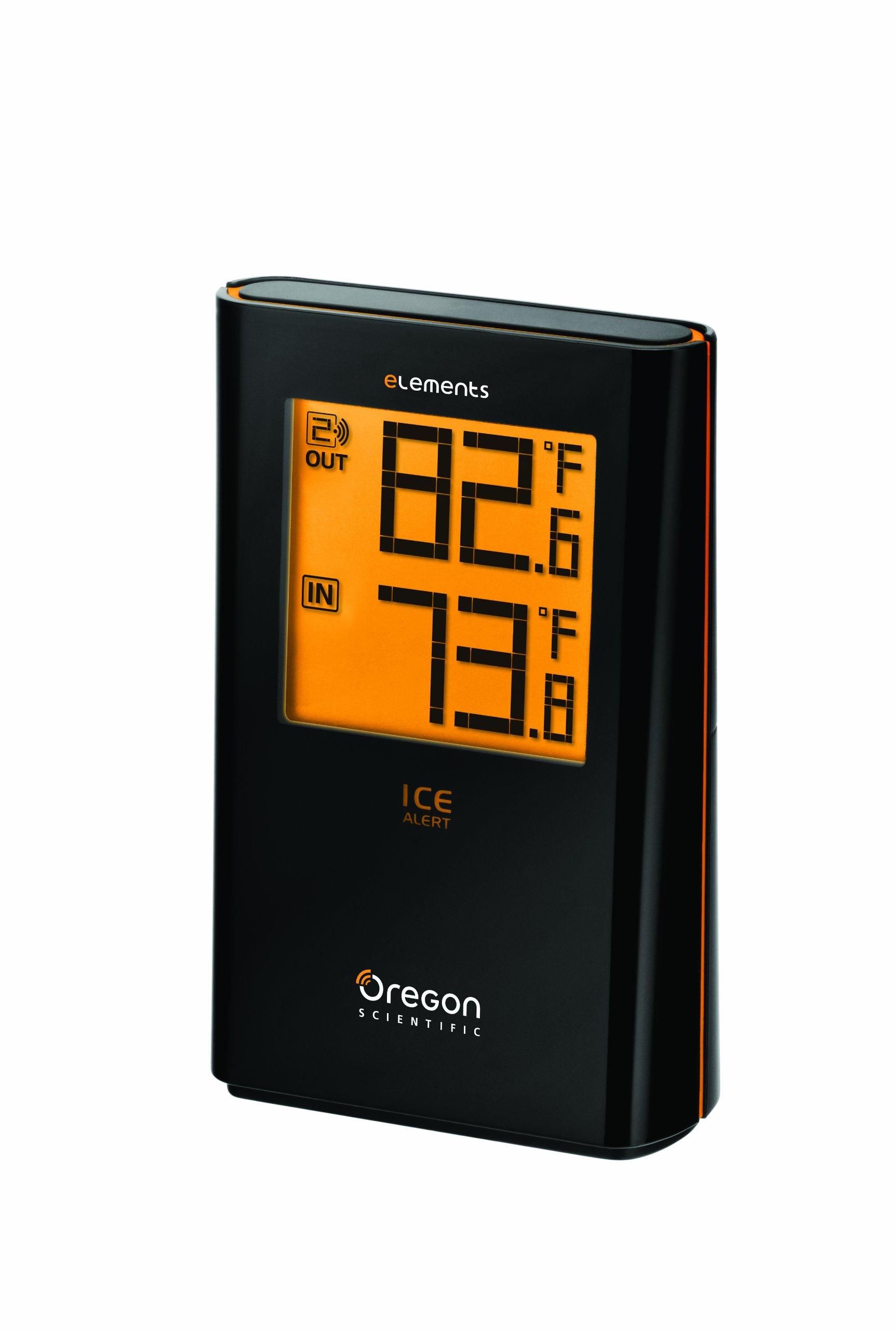 Oregon Scientific EW91 Wireless Indoor/Outdoor Thermometer with Ice Alert