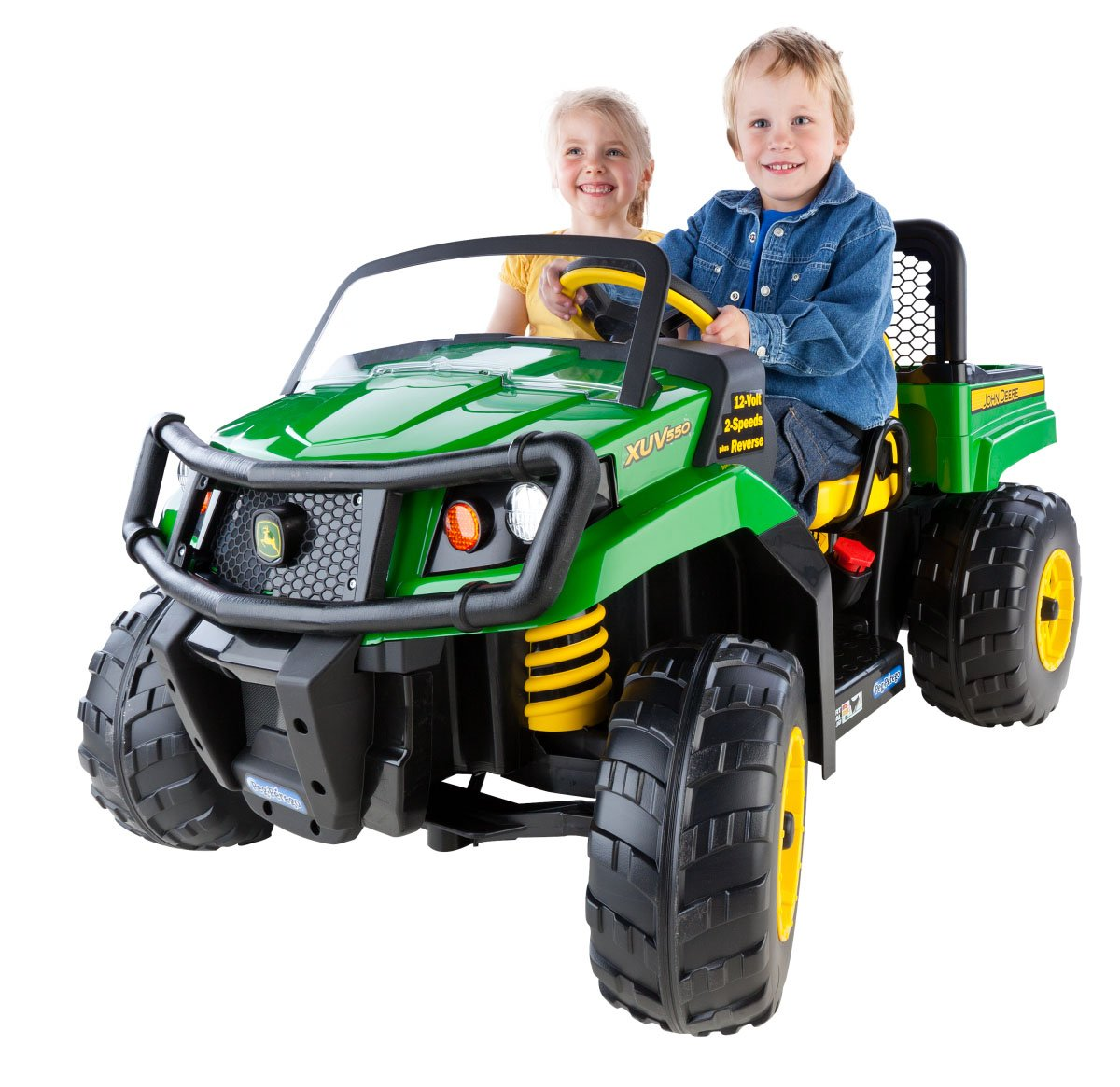 Amazon Com Peg Perego John Deere Gator Xuv Green Toys Games