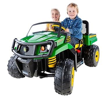 Peg Perego Ride On Toys >> Peg Perego John Deere Gator Xuv Green