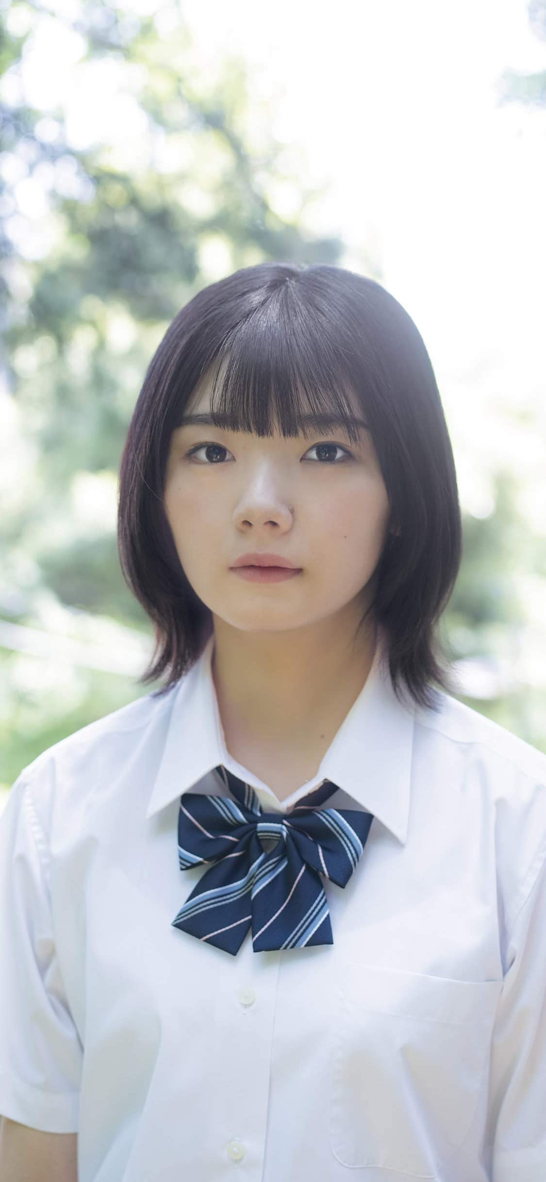 欅坂46 Iphone X 壁紙 1125x2436 藤吉夏鈴 女性タレント スマホ用画像