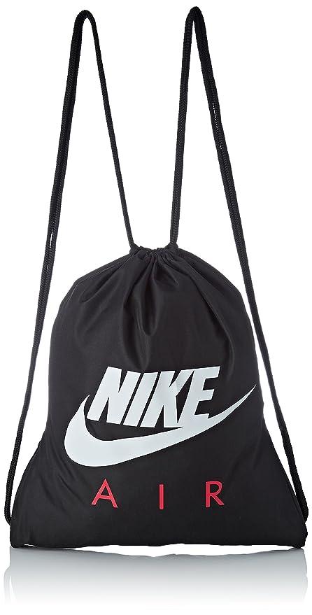 Nike Ba5262 Bolsa de Cuerdas para el Gimnasio, 20 cm, Black/University Red/White