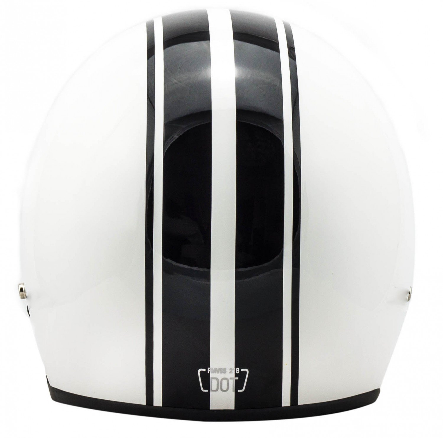 "Amazon.com: Arrow · AV-47 ""White"" (white) · Open Face Helmet · Motorcycle Jet Pilot Retro Scooter Motorbike · DOT certified · Click-n-Secure Clip · Carrier ..."