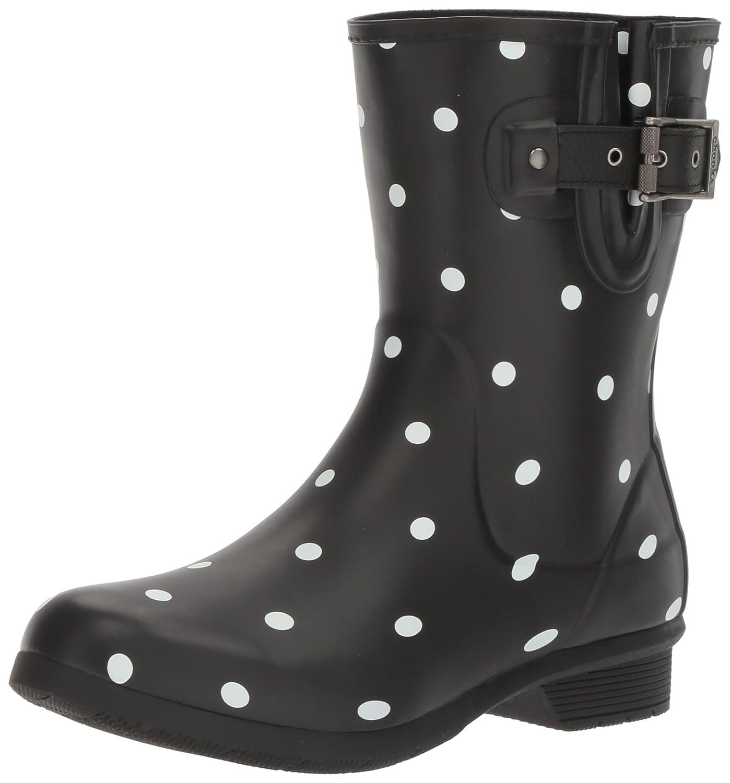 78453677bb0e1 ... Chooka Women s Waterproof Mid-Height Boot Printed Memory Foam Rain Boot  Mid-Height B01LPCCSTW ...