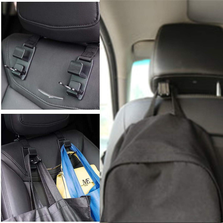 Universal Fahrzeug Auto Kopfst/ütze Sitz Haken Halter Ruesious Auto Vorne Hinten Sitz Kopfst/ütze Aufh/änger Haken Universal Handlich Haltbar Halter F/ür R/ückenlehne