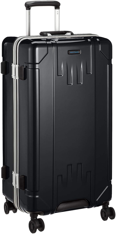 [ワールドトラベラー] スーツケース トゥルム 80L 70cm 5.0kg 06413 B07FSNRLQY ブラック ブラック