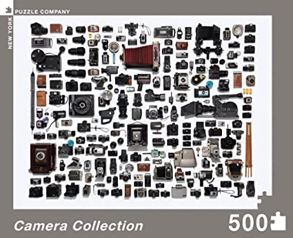 New York Puzzle Company Jim Golden Camera Collection 500 Piece Jigsaw Puzzle SG/_B00DW2VWUU/_US