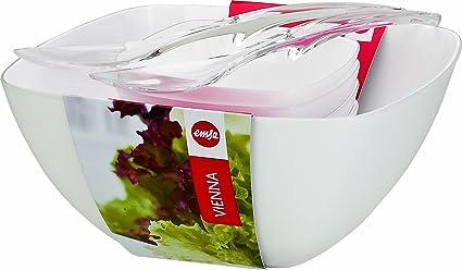 Emsa 512765 Vienna - Juego de accesorios para ensalada (6 piezas, se incluyen cubiertos