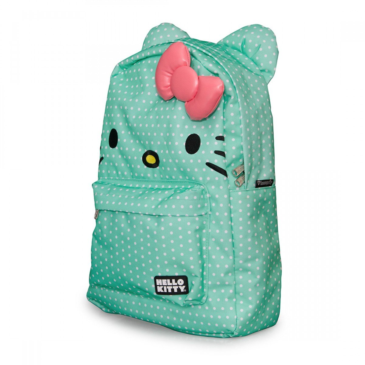 Fresh Polka Dot Mint Green Canvas School Backpacks- Fenix Toulouse ... b9f0200cb2cf6